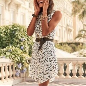 CAbi Sleeveless Leopard Camilla Shirtdress 5233